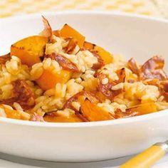 Risotto butternut et chorizo au cookeo – votre plat de diner.