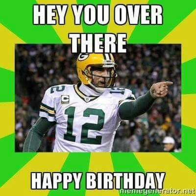 Pin By D J H Across Usa Via Maine On Birthday Fobs Green Bay Packers Birthday Packers Funny Happy Birthday