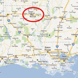 map of monroe louisiana Map Of Monroe Louisiana Monroe Louisiana Louisiana Travel West map of monroe louisiana