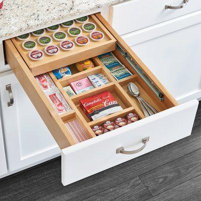Rev A Shelf Pod K Cup Drawer In 2019 Kitchen Kitchen