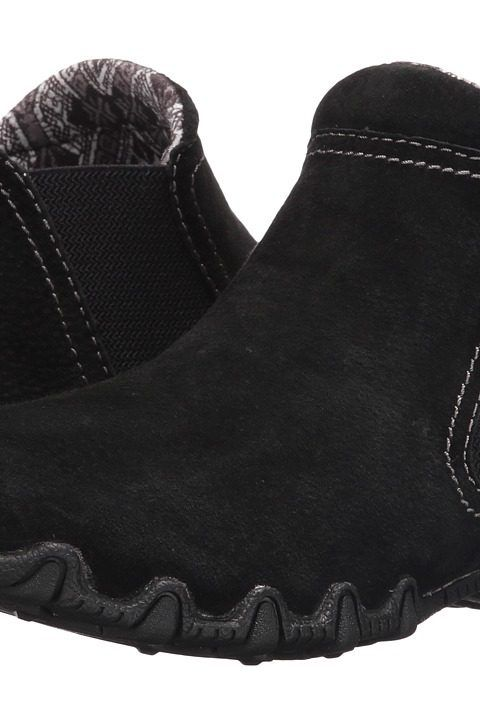 d6b6039e0862 SKECHERS Bikers Londoner (Black) Women s Shoes - SKECHERS