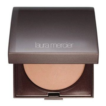 LAURA MERCIER's Matte Radiance Baked Powders Compact Bronze are sublime, really. They have a mat finish, but at the same time they make your skin glow.  I blend them often with the Second Cheek Color Sweet Mandarine