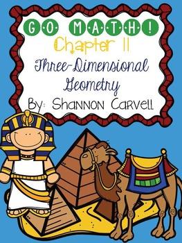 1st Grade Go Math Geometry Chapter 11-12 Centers   Go math ...