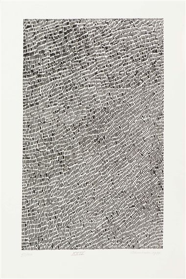 Jan J. Schoonhoven - a) XXIV, b) VI; Creation Date: 1971 - 1977; Medium: Lithography; Dimensions: 19.72 X 12.99 in (50.1 X 33 cm)