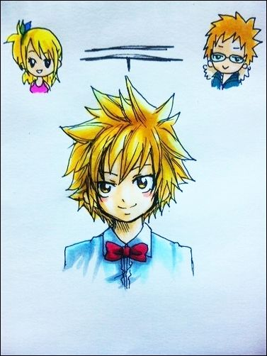 If Lucy and Loke had a baby boy, I think it would be exactly