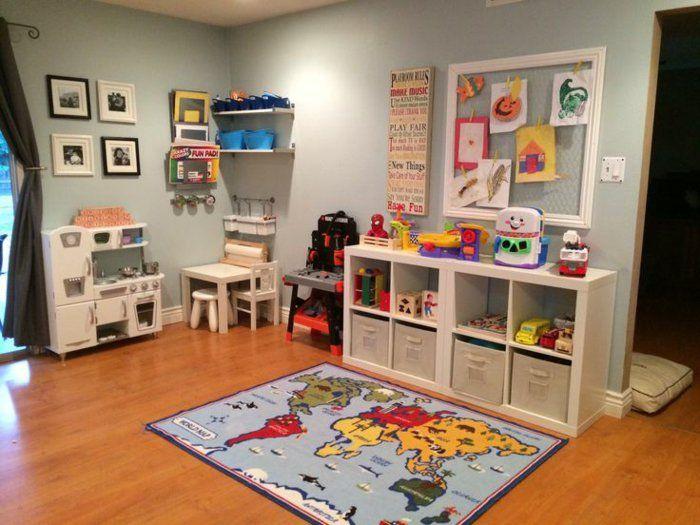 Wie Sie ein kinderfreundliches Wohnzimmer einrichten ...