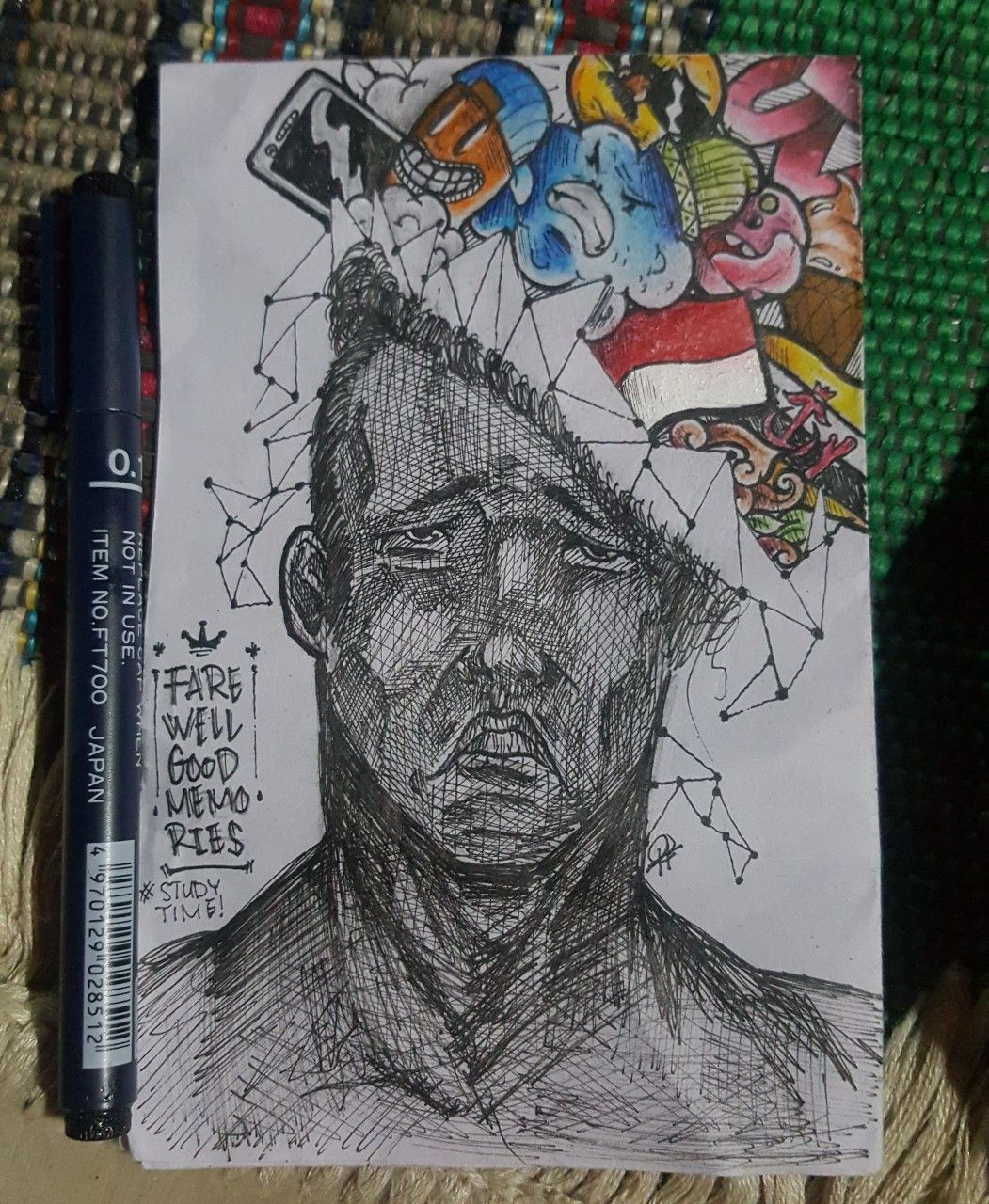 Sketsa Gambar Pahlawan Pangeran Diponegoro
