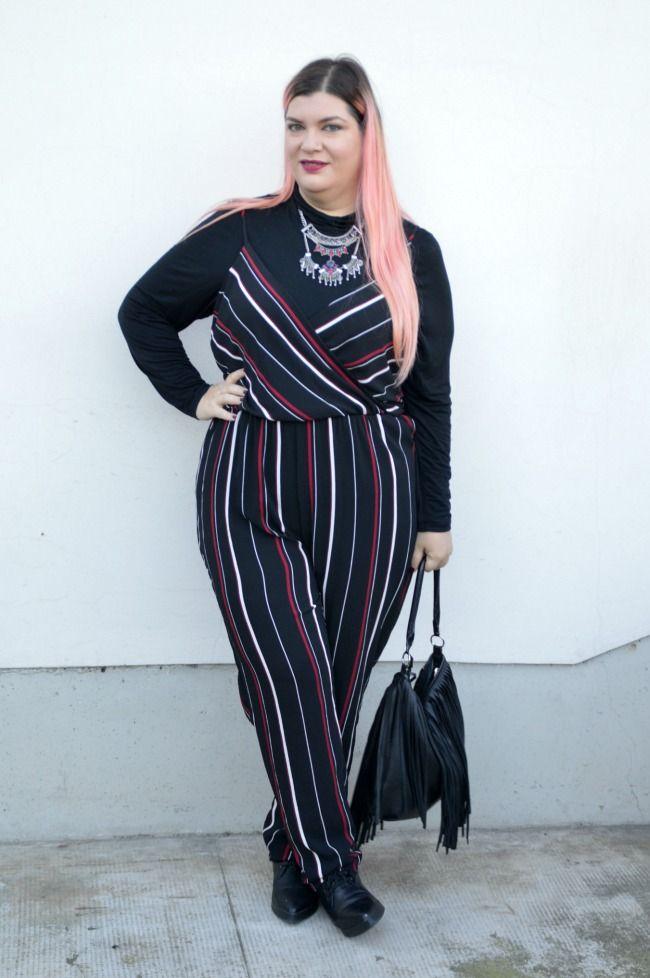 Outfit plus size tuta nero e blu (7)