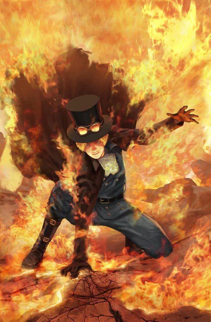 Sabo One piece art one piece Pinterest Anime, Naruto
