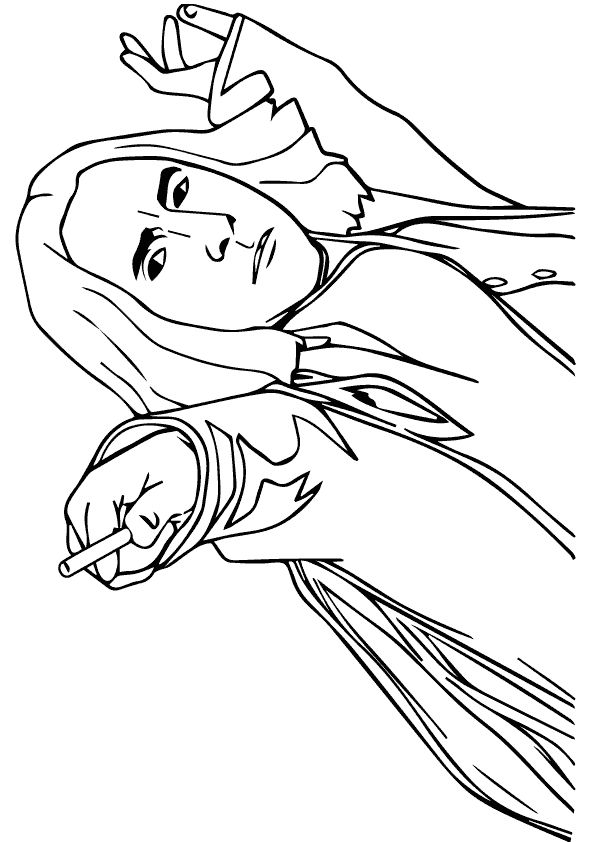 The Severus Snape Harry Potter Coloring Pages Coloring Pages Harry Potter Art Drawings