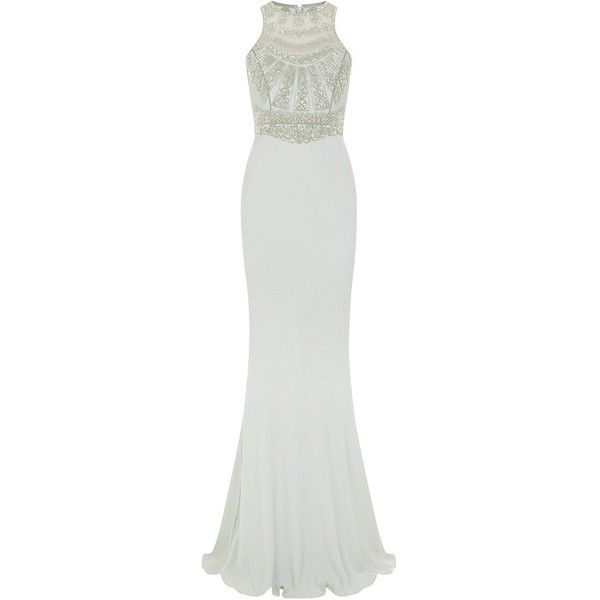 Rachel Gilbert Portia Embellished Gown (€2.000) found on Polyvore