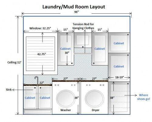Pin By Mirta 456690 On House Plan Laundry Room Layouts Laundry
