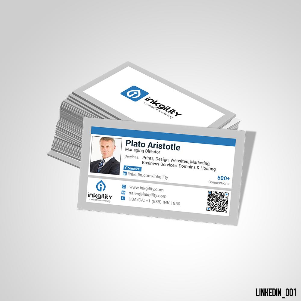 Linkedin business card linkedin standard business card pinterest linkedin business card colourmoves