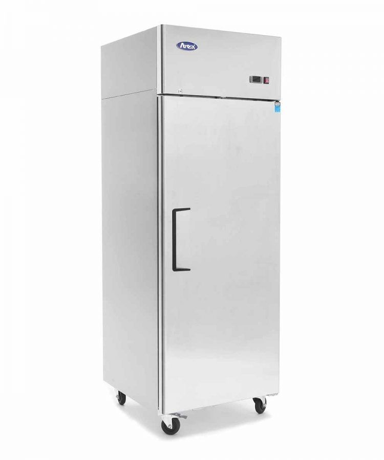 Atosa MBF8004 Stainless Steel Door Top Mount Commercial Refrigerator #Atosa