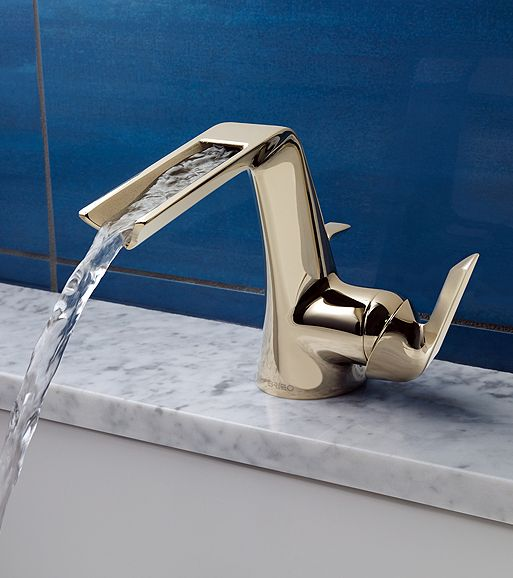 The new contemporary Sotria faucet by Brizo is available with a ...