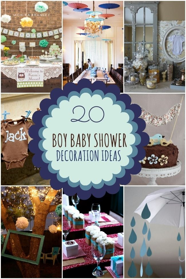 20 boy baby shower decoration ideas boy baby showers for Baby boy baby shower decoration ideas