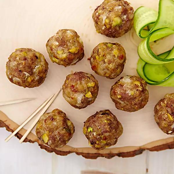 Photo of Recipe: Meatballs with Mozzarella and Garam Mas …