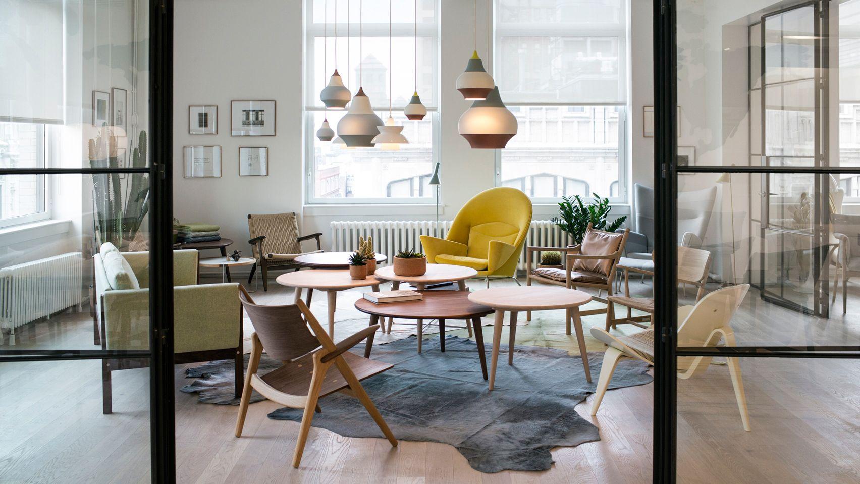 Danish Furniture Brand Carl Hansen U0026 Son Has Relocated Its Showroom In  Manhattan, Filling A
