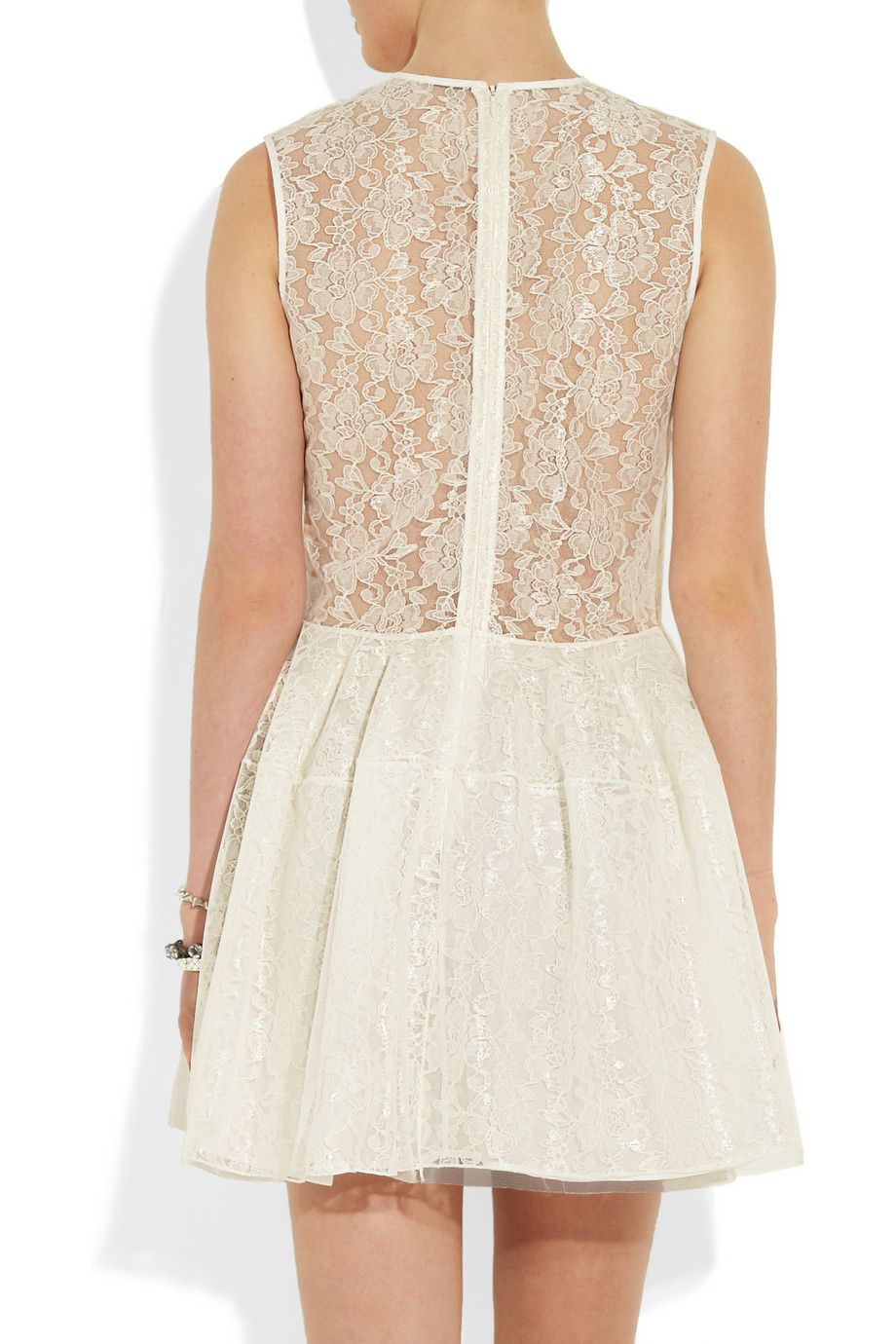 Simone Rocha Tulle and lace dress NETAPORTERCOM Wish List