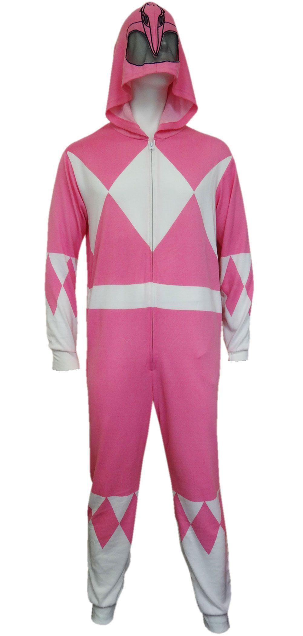 WebUndies.com Mighty Morphin Power Rangers Pink Ranger Onesie ...
