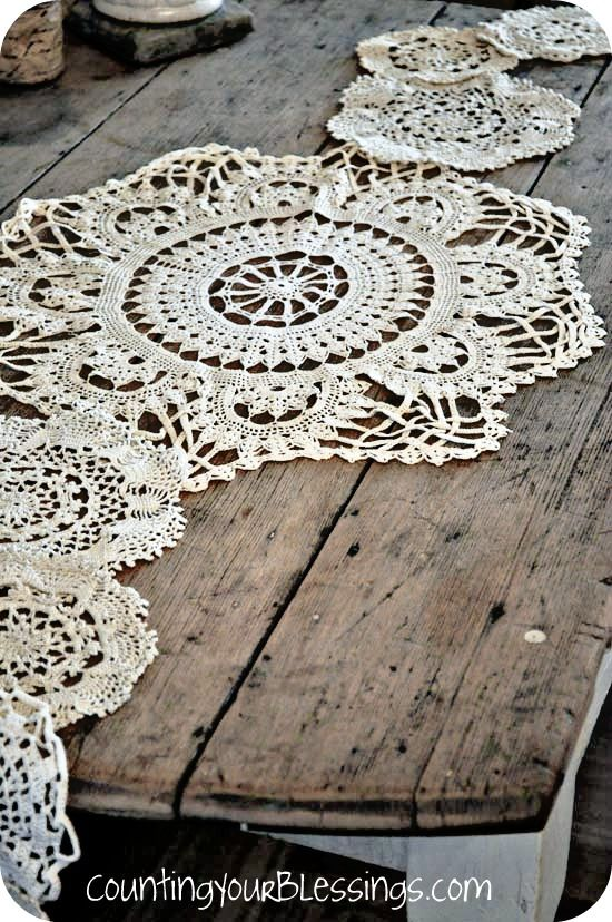 Crochet Doily Table Runner This Is What I Want To Make