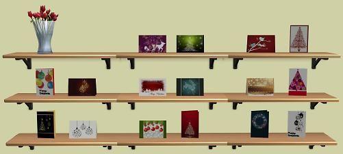 Mod The Sims - Sixteen Christmas Cards for MogHughson's Postal System