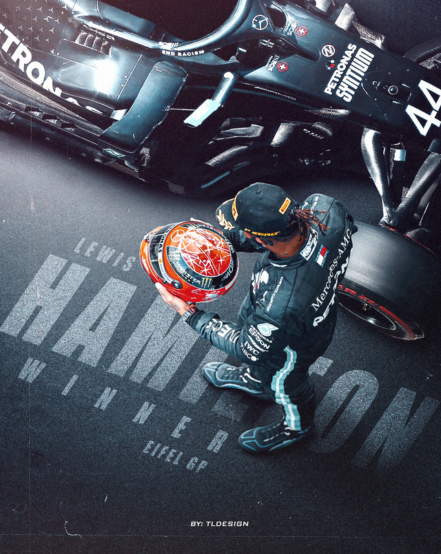 Love The Shot Of Lewis Holding Michael S Helmet So I Made A Poster Of It Formula1 Lewis Hamilton Formula 1 F1 Lewis Hamilton F1 Hamilton