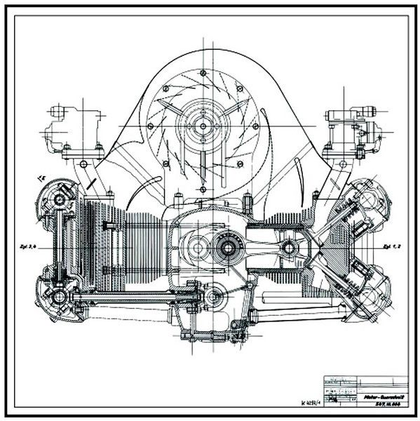 Porsche Quad Cam Diagram Automotive Illustration Porsche