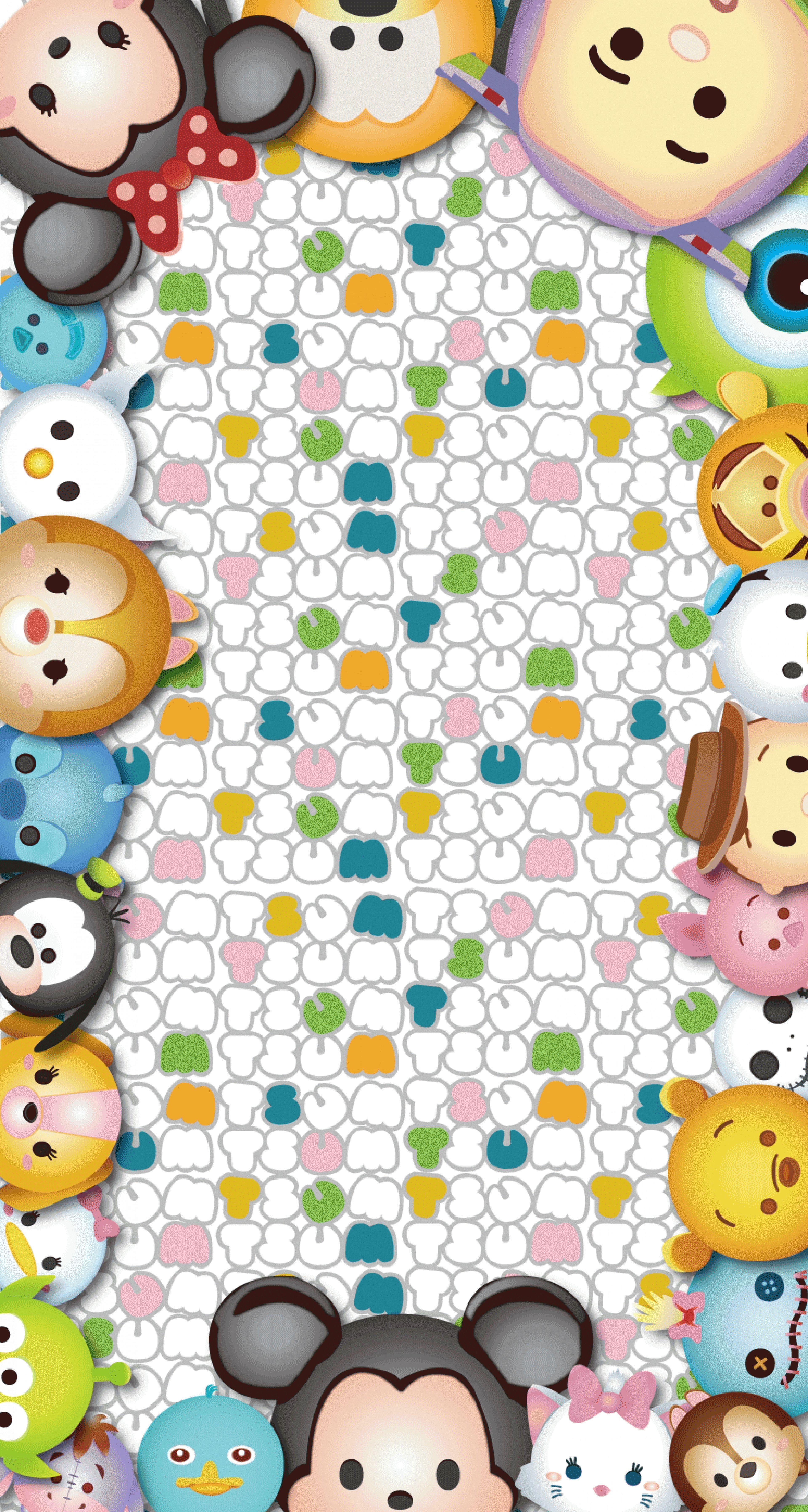 Pin On Tsum Tsum Wallpapers