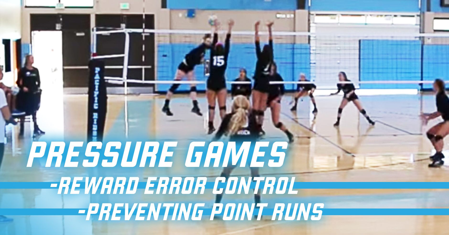 2 Games That Reward Error Control And Prevent Point Runs The Art Of Coaching Volleyball Volleyball Workouts Volleyball Training Volleyball Drills