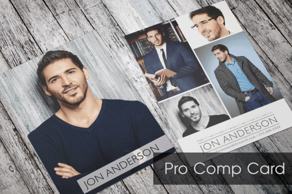 Pro Comp Card Template Model Comp Card Card Templates Free Card Template