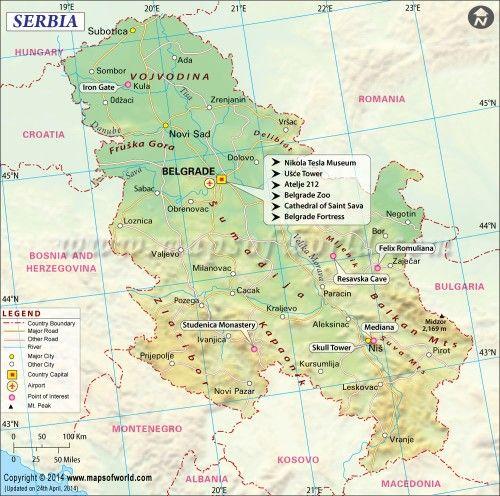 Serbia #Worldmap