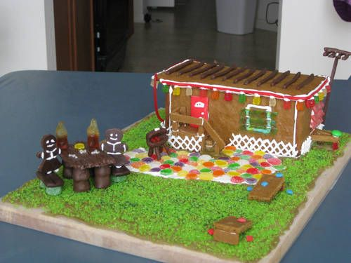 Ever Seen A Gingerbread Mobile Home Before Craftster Craft