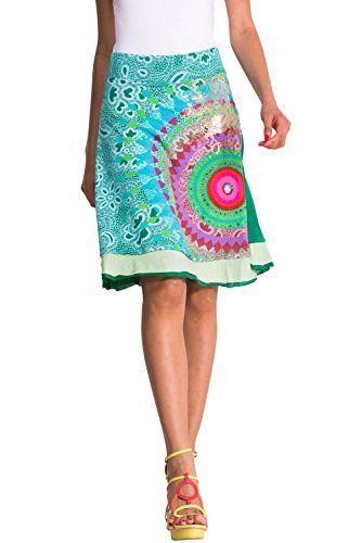 Desigual Damen A-Linie Kleid ELIAN: Amazon.de: Bekleidung
