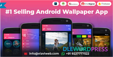 Get Android Wallpapers App (HD, Full HD, 4K, Ultra HD