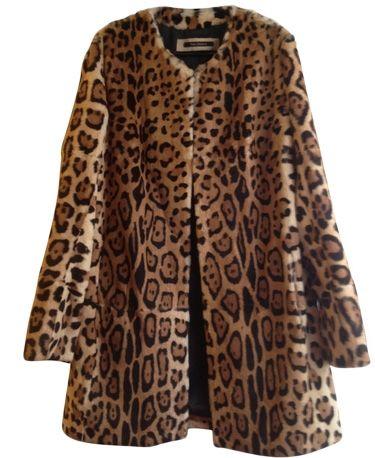 Blouson, veste en fourrure TARA JARMON Imprimé animalier @VideDressing
