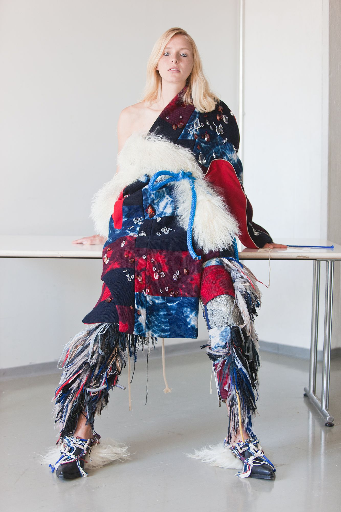 """Elina Määttänen """"Finland is not a land of high glamour. My clothes are usually…"""