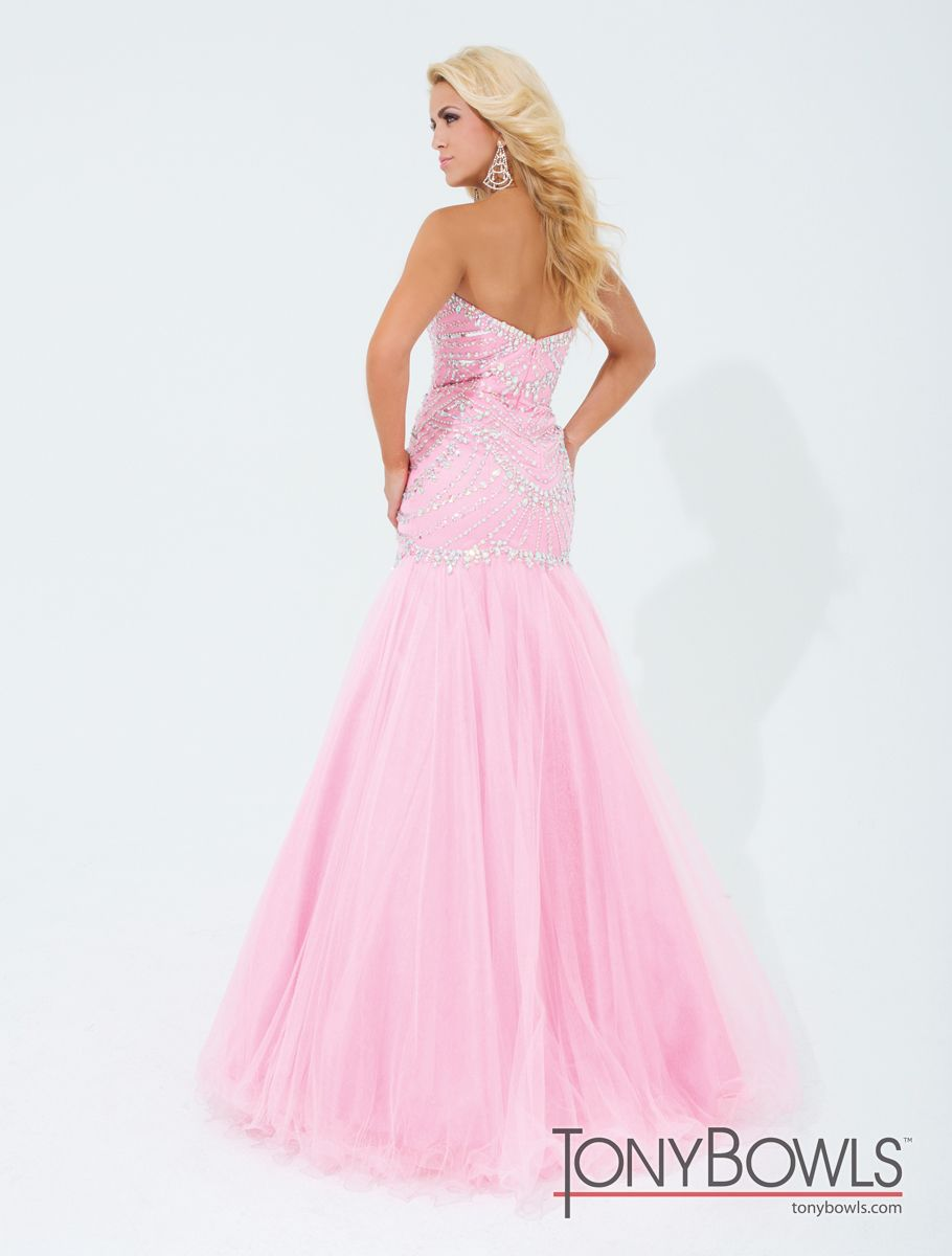 Tony Bowls Black Mermaid Gown 114746
