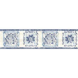 Sanitas 5 1 8 Medallion Prepasted Wallpaper Border Lowes Home Improvements Prepasted Wallpaper Wallpaper Border