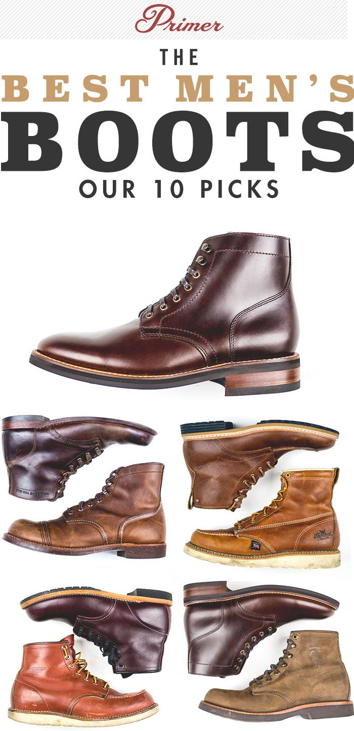 The Best Mens Boots: Primers 10 Picks repinned vom