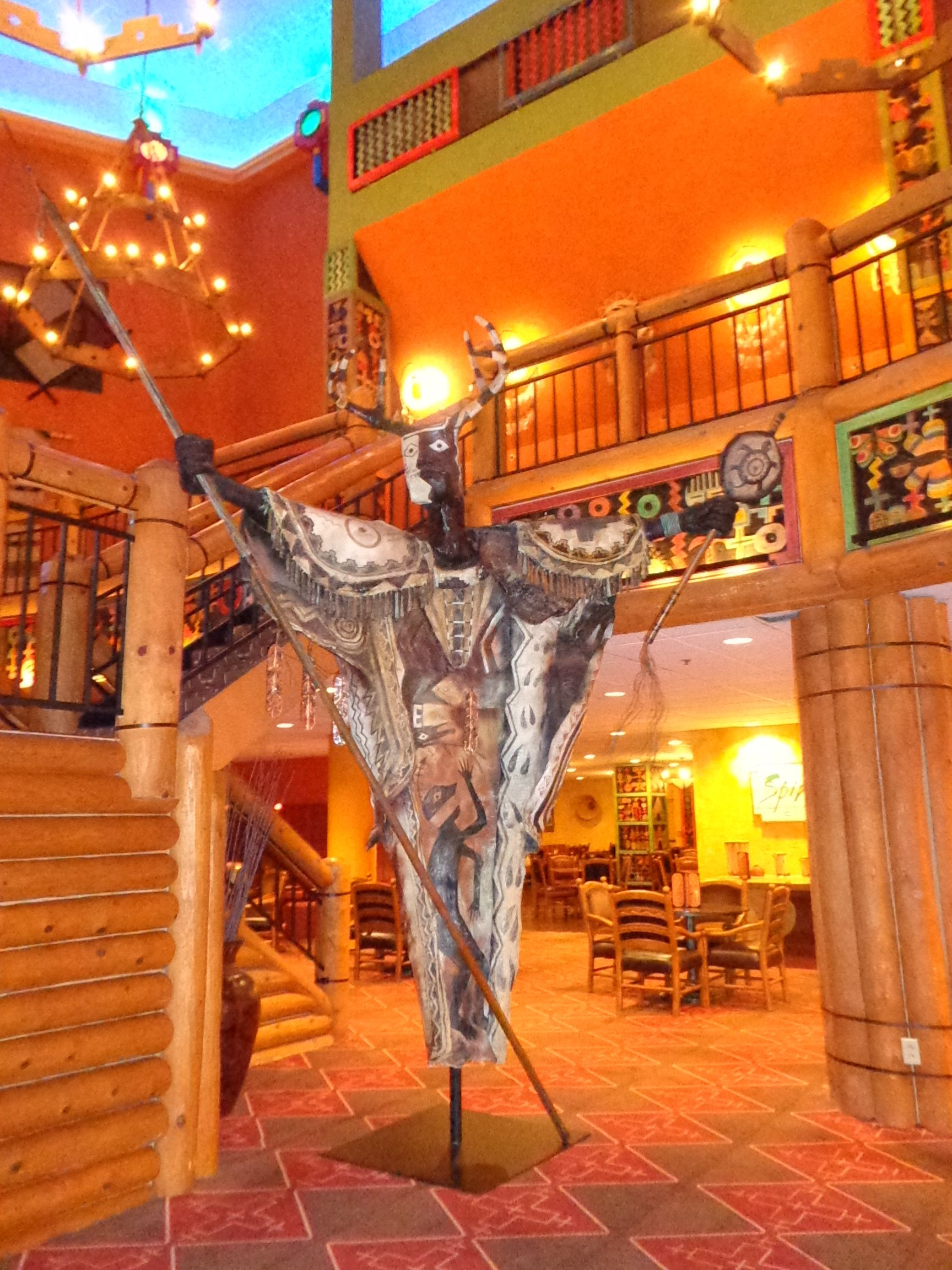 Nativo Lodge, Albuquerque, New Mexico. Not one inch of this place isn't fascinating! - Photo by Ronni