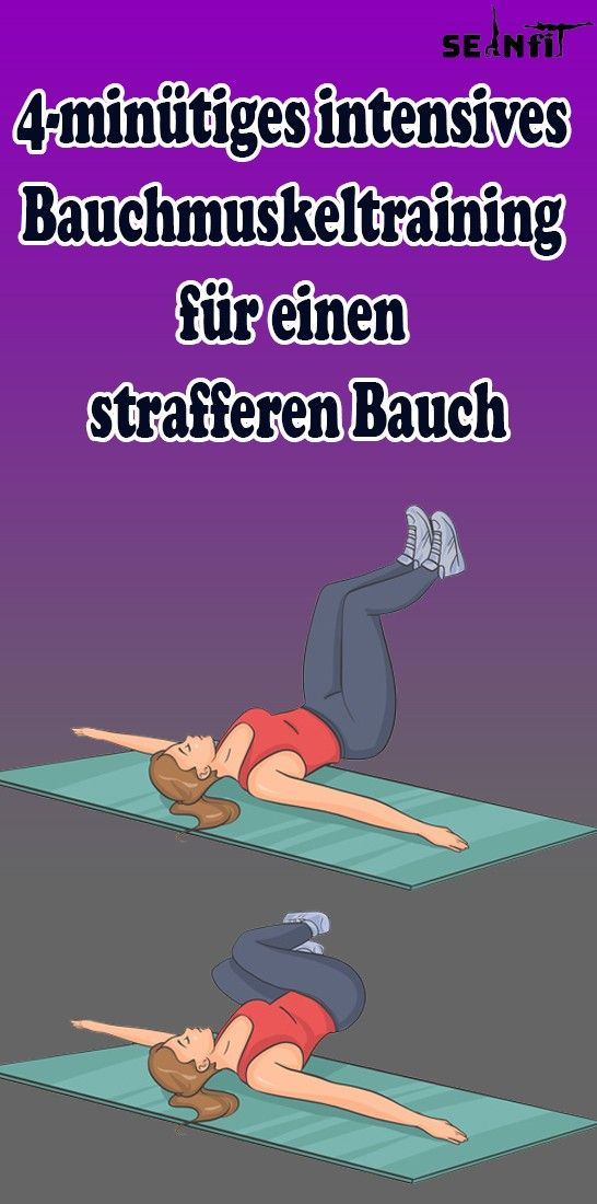 Photo of 4-minute intensive abdominal muscle training for a firmer stomach