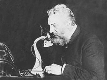 The first ever telephone invented was made by Alexander Graham ...