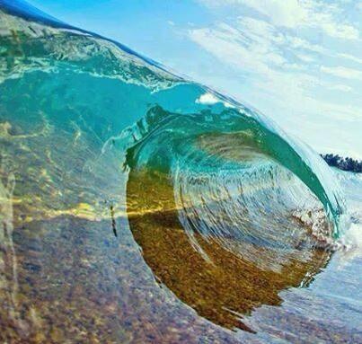 Kirsten Henry @Kirsten Wehrenberg-Klee Henry   Crystal waves, Bora Bora Island, French Polynesia....