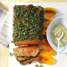 Rezept: Kräuter-Roastbeef