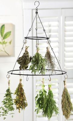 Two Tier Hanging Herb Drying Rack - NO longer available but maybe I can make one?