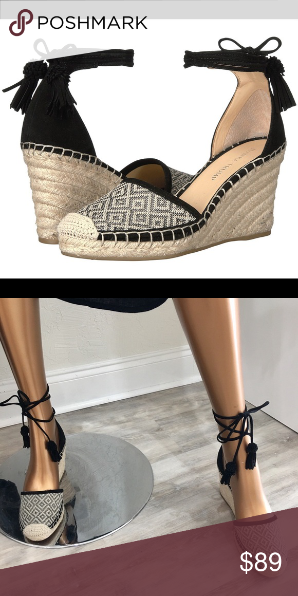 6f1d33d213b Ivanka Trump Wadia Multi Suede Wedge Breezy espadrille fashion gets ...