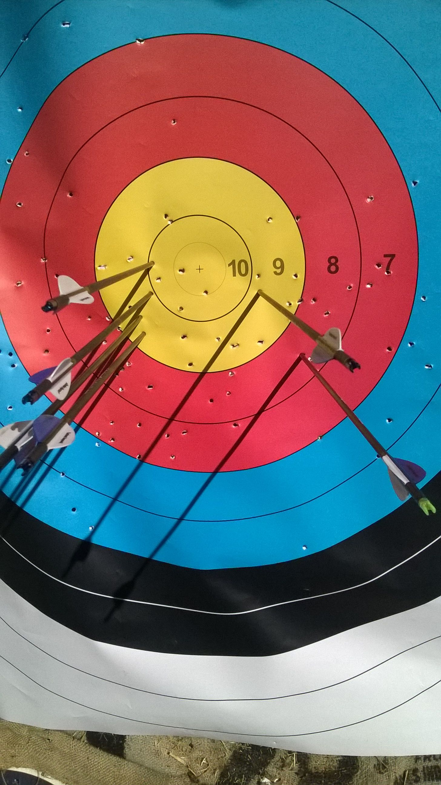 shooting at 50 yards when your arrows don u0027t want to play or group