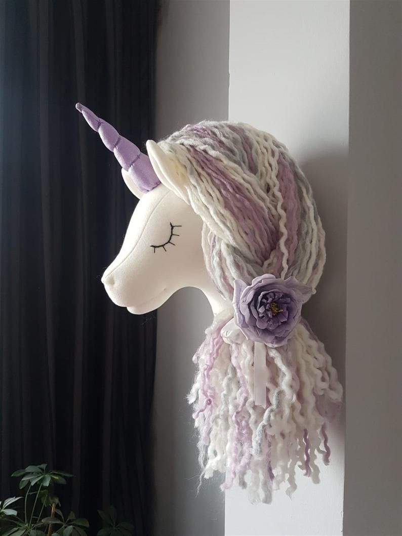 21++ Unicorn head wall mount diy trends