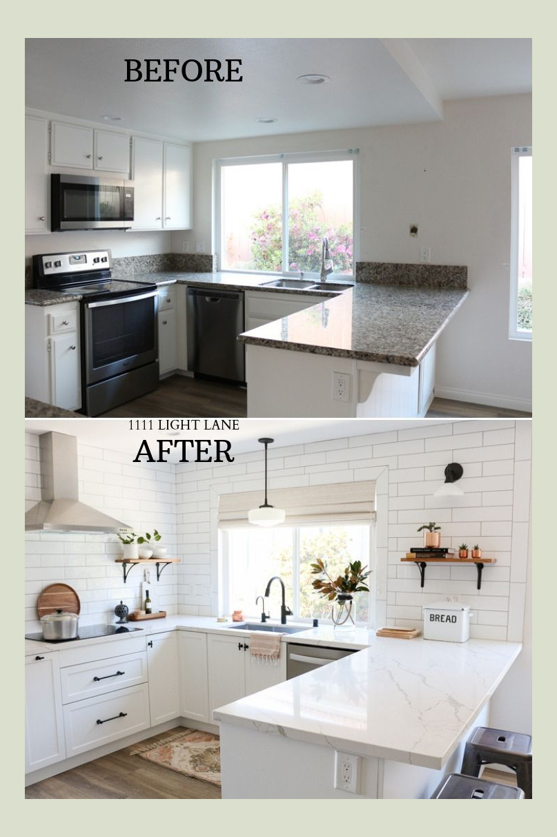 Before And After 10 Stunning Kitchen Transformations